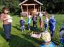 MŠ Zámek Doudleby - komunitní zahrada, přírodovědné muzeum